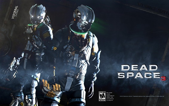 Wallpaper Dead Space 3 game HD