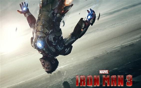壁纸 钢铁侠3,战斗受伤 高清壁纸, 图片, 照片