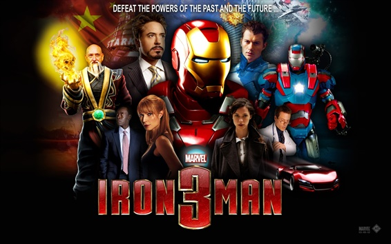 Wallpaper Iron Man 3 movie HD