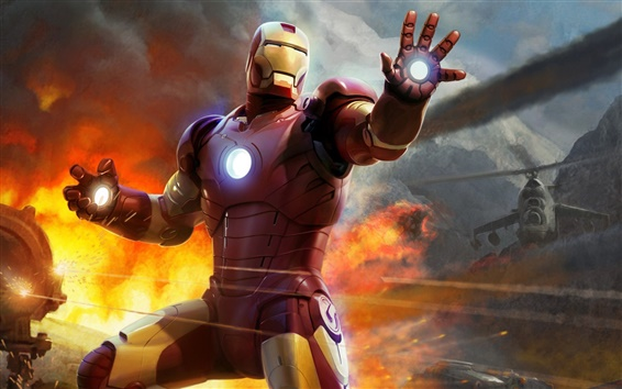Wallpaper Iron Man game HD