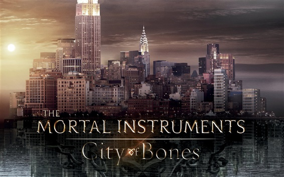 Papéis de Parede Os Instrumentos Mortais: Cidade dos Ossos
