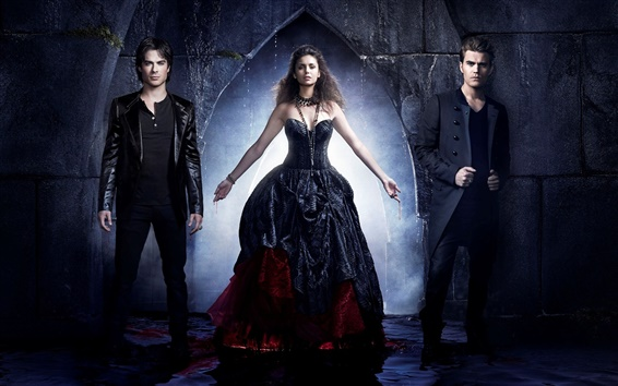 Fondos de pantalla The Vampire Diaries, temporada 4