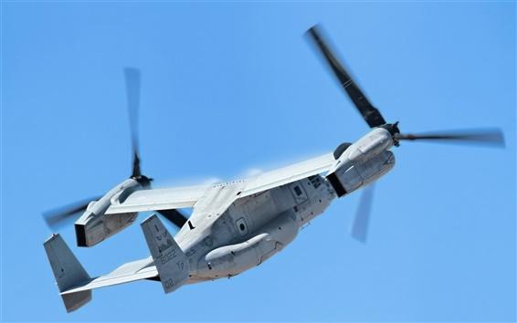 Fondos de pantalla V-22 Osprey transporte vuelo de la aeronave
