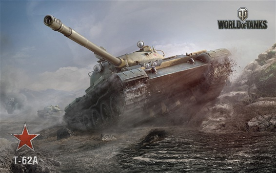 Wallpaper World of Tanks, in the war