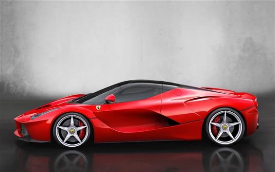 Wallpaper 2013 Ferrari LaFerrari supercar