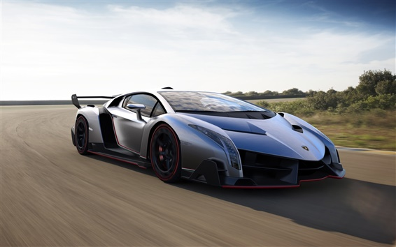 Fondos de pantalla 2013 Lamborghini Veneno superdeportivo de lujo