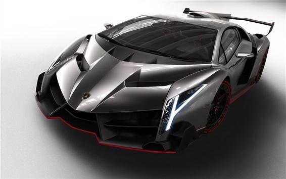 Обои 2013 Lamborghini Veneno, очень здорово автомобиля