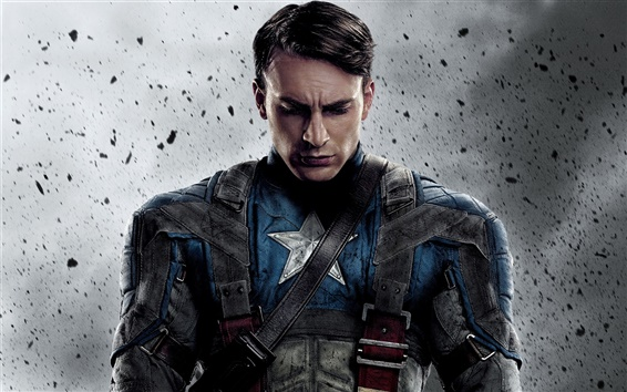 Wallpaper Captain America 2011 movie
