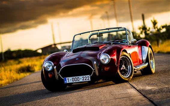Wallpaper Cobra classic car