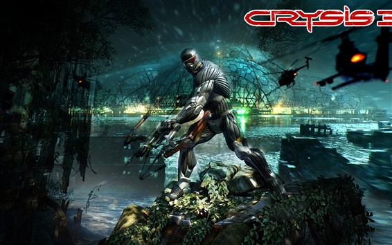 Wallpaper Crysis 3, 2013 hot game