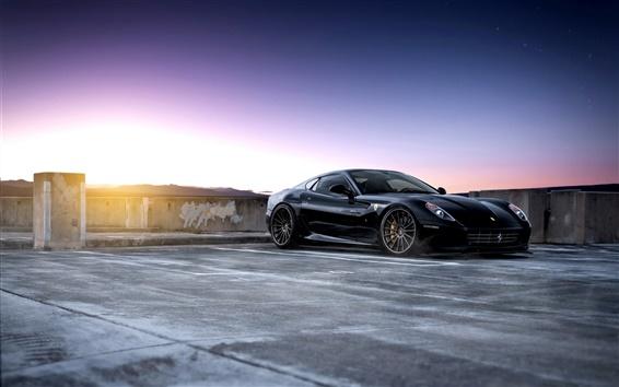 Обои Ferrari 599 GTB Fiorano суперкар