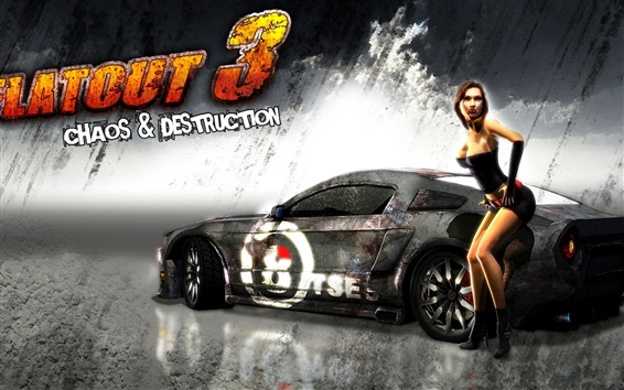Wallpaper FlatOut 3: Chaos and Destruction
