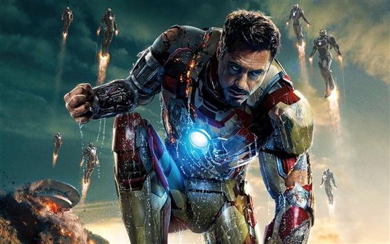 Fondos de pantalla Iron Man 3, 2013 HD