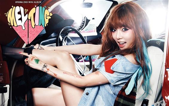 Fondos de pantalla Kim Hyuna 02
