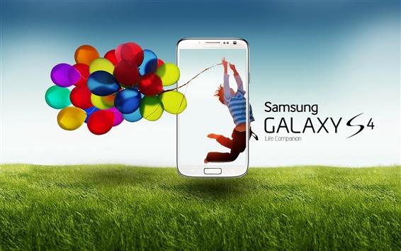 Обои Samsung Galaxy S4 объявлений