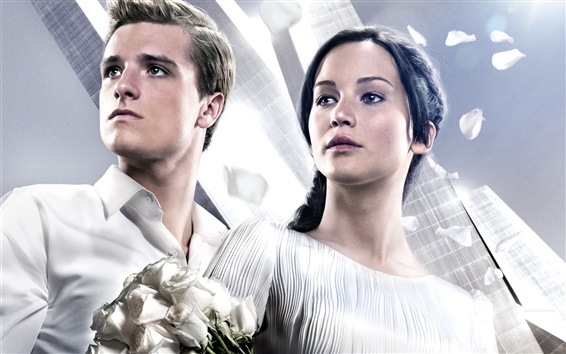 Обои The Hunger Games: возгоранием 2013