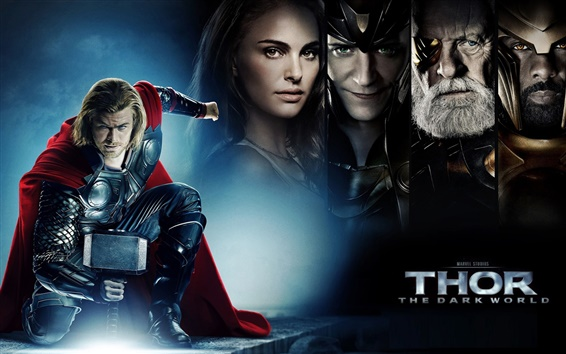 Fondos de pantalla Thor 2: The Dark HD Mundo