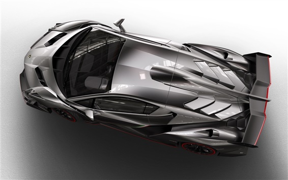 Wallpaper Top view of the Lamborghini Veneno 2013