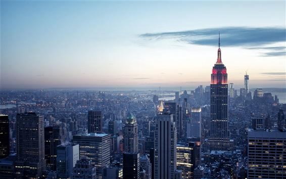 Fondos de pantalla EE.UU., Ciudad de Nueva York, los edificios, el Rockefeller Center