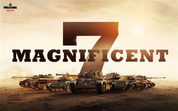 Fondos de pantalla World of Tanks juego HD