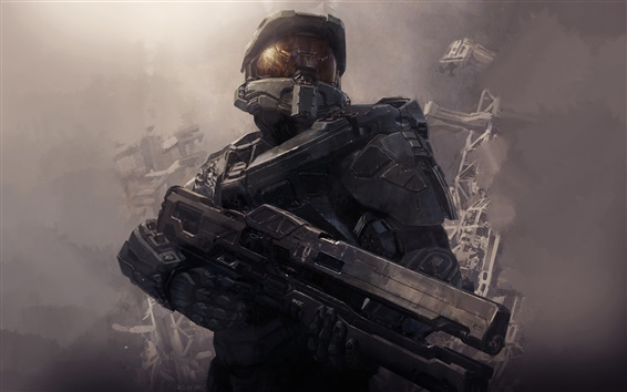 Wallpaper 2013 game, Halo 4