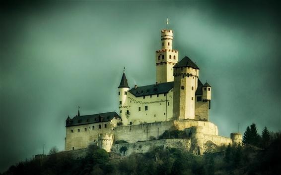 Wallpaper Artificial buildings, castle