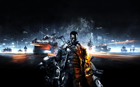Wallpaper Battlefield 3, Terminator