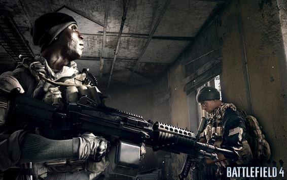 Papéis de Parede Battlefield 4 soldados no quarto