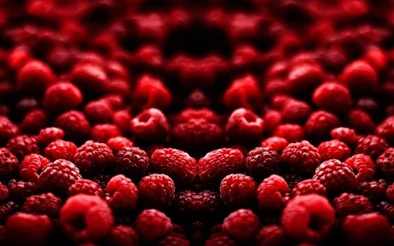 Fondos de pantalla Frutas deliciosas, frambuesa roja