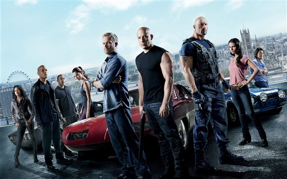 Wallpaper Fast And Furious 6 HD