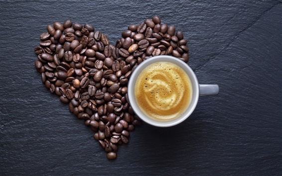 Wallpaper Food of drink, coffee and coffee beans