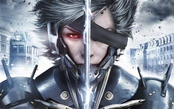 Fondos de pantalla Juego de pantalla ancha, Metal Gear Rising: Revengeance