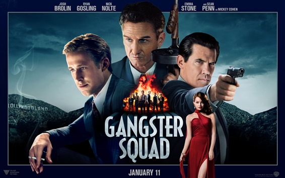 Wallpaper Gangster Squad HD