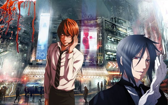 Wallpaper Japanese anime, Death Note