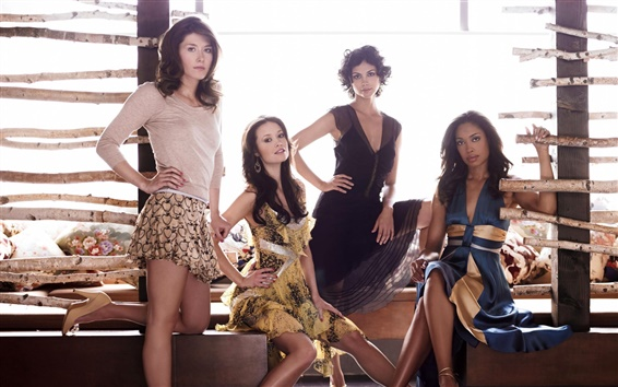 Wallpaper Jewel Staite, Summer Glau, Morena Baccarin, Gina Torres, Firefly