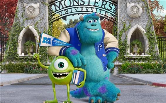 Papéis de Parede Monstros University HD