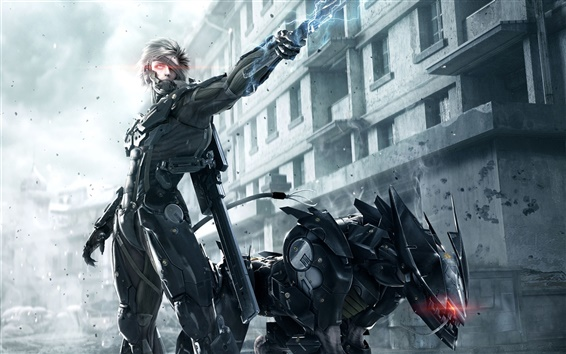 Wallpaper PC game Metal Gear Rising: Revengeance