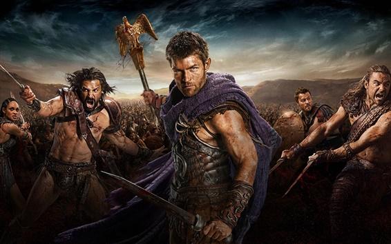 Fondos de pantalla Spartacus: War of the Damned HD