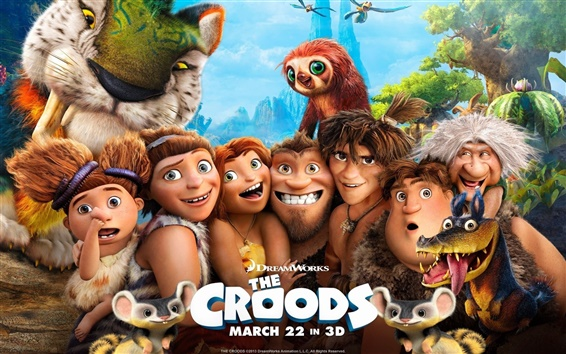 Wallpaper The Croods HD movie