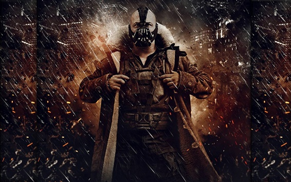 Fondos de pantalla The Dark Knight Rises, el hombre malo