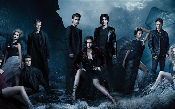 Wallpaper The Vampire Diaries, TV series, season 4 HD