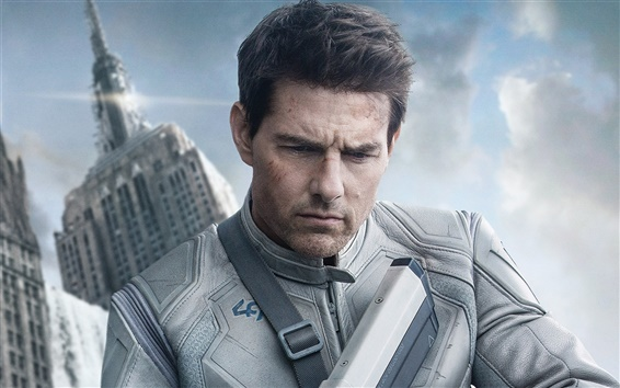 Fondos de pantalla Tom Cruise in Oblivion