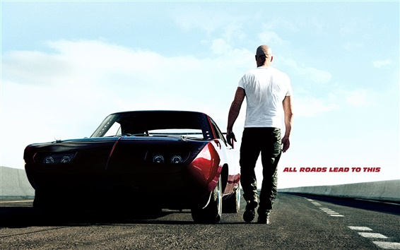 Wallpaper Vin Diesel in Fast and Furious 6