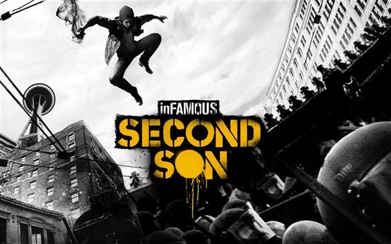 Wallpaper inFamous: Second Son