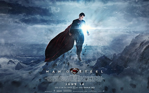 Fondos de pantalla 2013 Man of Steel HD