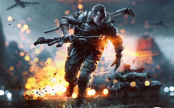 Wallpaper 2013 game, Battlefield 4