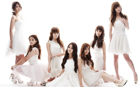 Wallpaper CHI CHI Korean music girl group 02