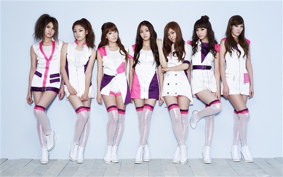 Fondos de pantalla CHI CHI grupo coreano girl music 04