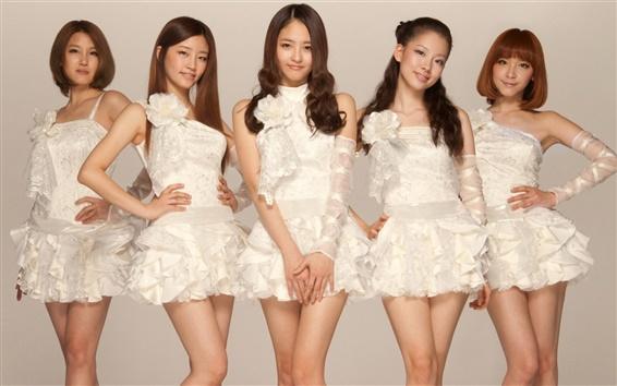 배경 화면 CHI CHI 한국 음악 소녀 그룹 05