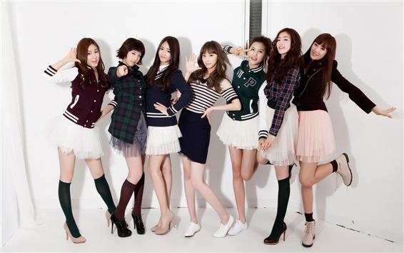 Fond d'écran CHI CHI groupe de filles de musique coréenne 06